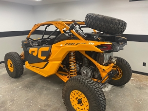 Can Am X3 Spare Tire / Adventure Rack